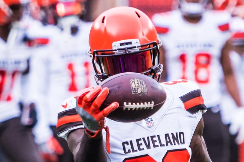 NFL Cleveland Browns wide receiver Jarvis Landry