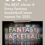 The words Fantasy Basketball in stamp letters.