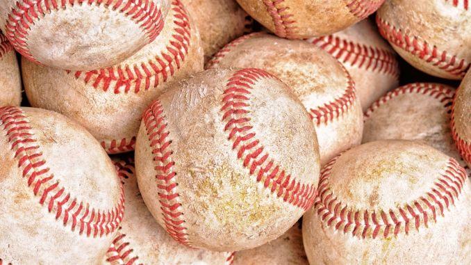 A bunch of dirty baseballs.