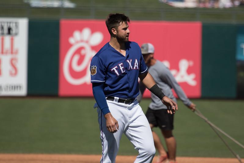 Texas Rangers right fielder Joey Gallo