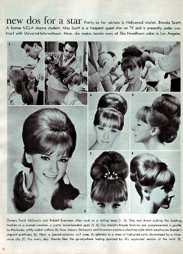 1960s Hair And Makeup The Ladies Of 2318