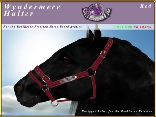 E-RH-Friesian-wyndermereHalter-Red
