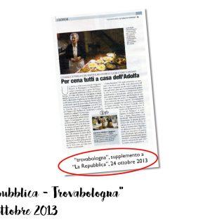 """""""TrovaBologna, La Repubblica"""", 2012"""
