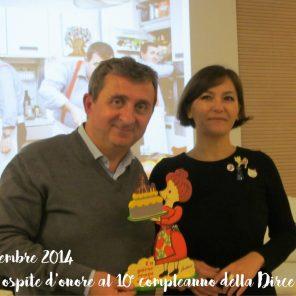 Novembre 2014 - Vito ospite d'onore alla festa per il decimo compleanno della Dirce