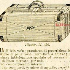 Carlo Sigismund, catalogo 1889 - valigia