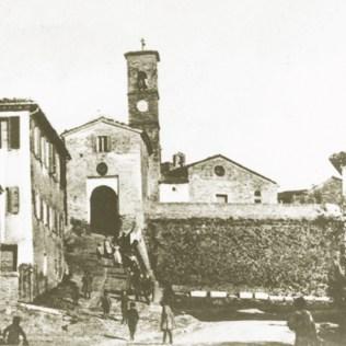 Tomba di Pesaro, il castello ai primi del '900