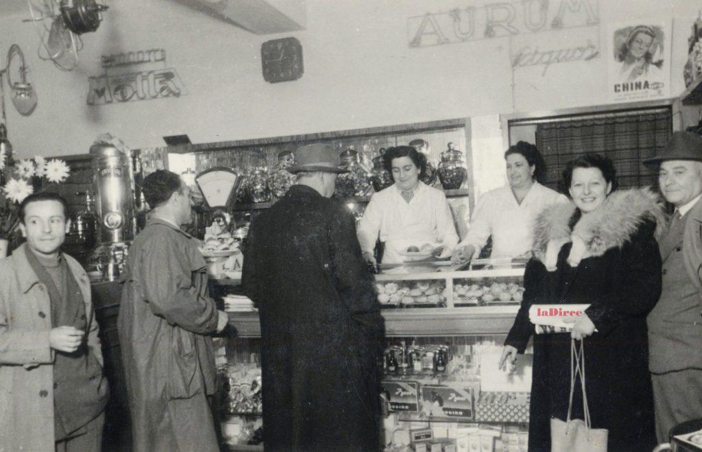 Pesaro, anni 50. Il Bar Gino