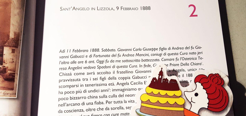 Giovanni Gabucci, Il facchino della diocesi - di Cristina Ortolani