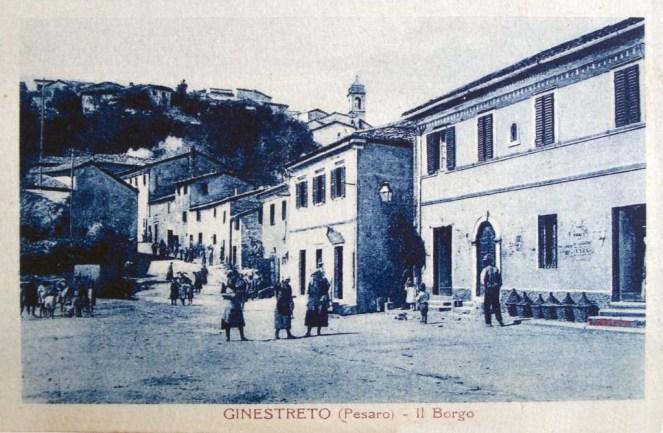 Ginestreto, il borgo ai primi del '900