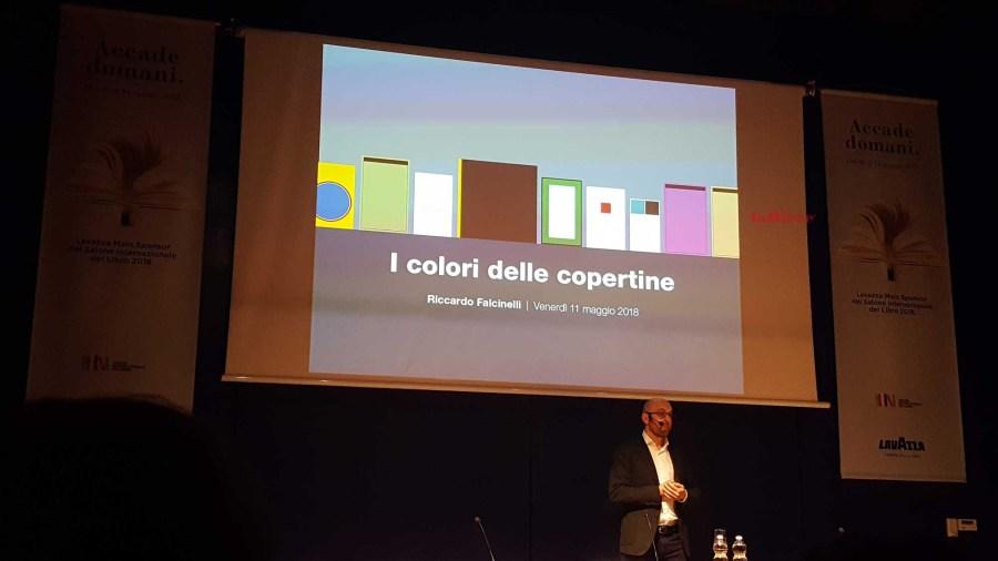 Salone del Libro 2018 - Riccardo Falcinelli