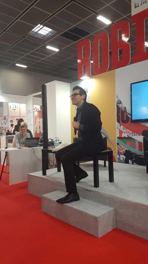Salone del Libro 2018 - Nicola Lagioia