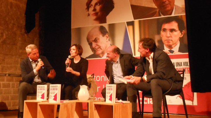 """Presentato il libro """"C'era una volta la sinistra"""". Tra gli ospiti anche Bersani e Boccia"""