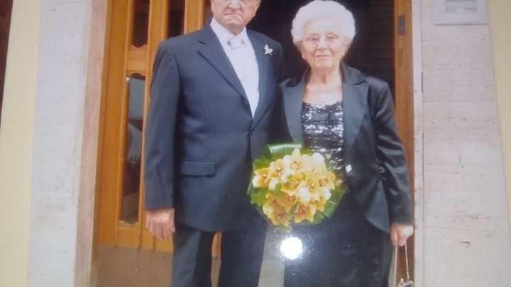 25 aprile, 60 anni di matrimonio per Maria e Domenico Di Reda