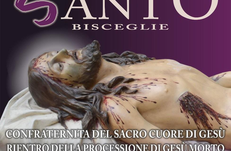 """Il rientro della statua del """"Cristo deposto"""" in diretta su TeleRegione"""