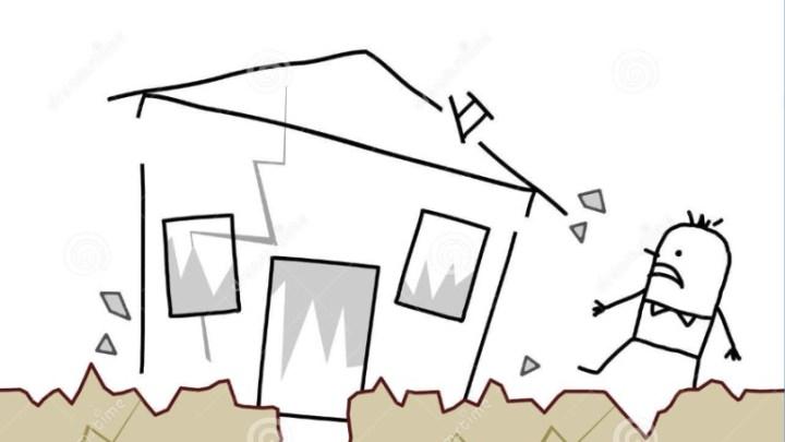 U tramóte…ce paghìure! (Il terremoto…che paura!)
