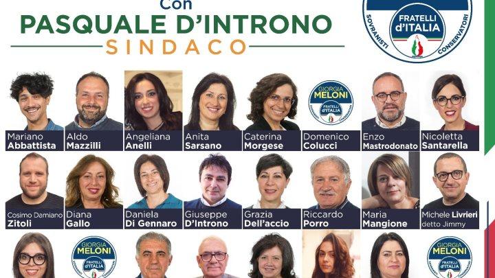 Già consigliere comunale a Bisceglie, ora candidato a Corato con Fratelli d'Italia