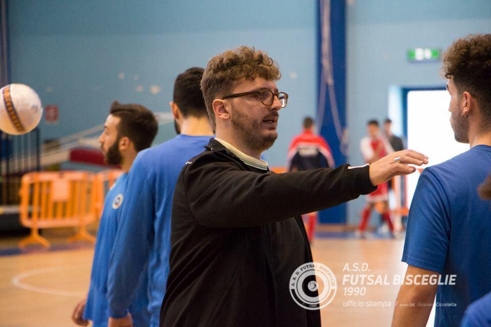 Il Futsal Bisceglie saluta mister Bonadies