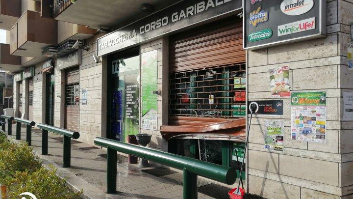 Tentativo di furto alla Tabaccheria di corso Garibaldi sventato dai Metronotte