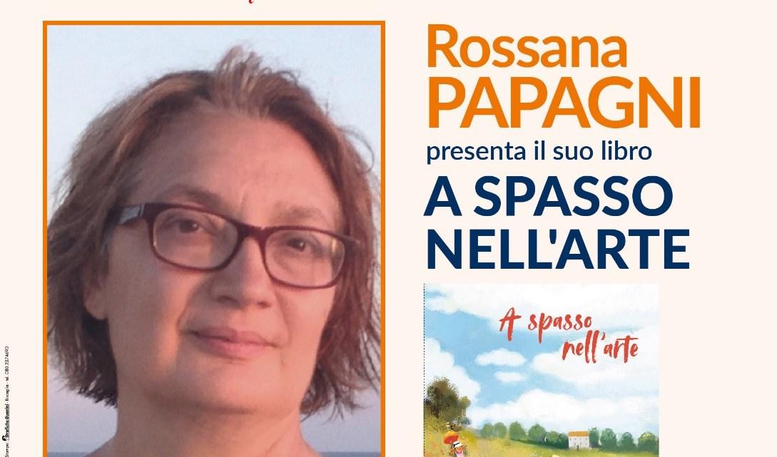 """#FuoriCartellone di Libri nel Borgo Antico: Rossana Papagni presenta """"A spasso nell'arte"""""""
