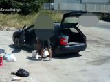 Abbandono illegale di rifiuti, incivili scovati con le foto-trappole  (VIDEO)