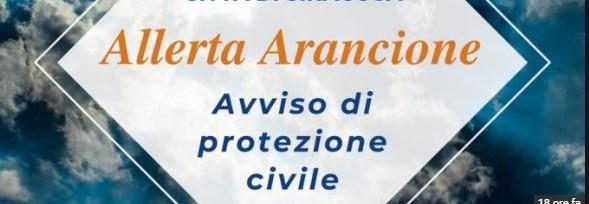 Allerta meteo arancione su tutta la Puglia dalle ore 20 di stasera per le successive 24 ore