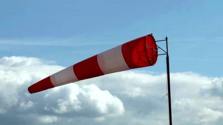 Su Bisceglie vento forte a 40 chilometri orari. Nel tardo pomeriggio previsto temporale