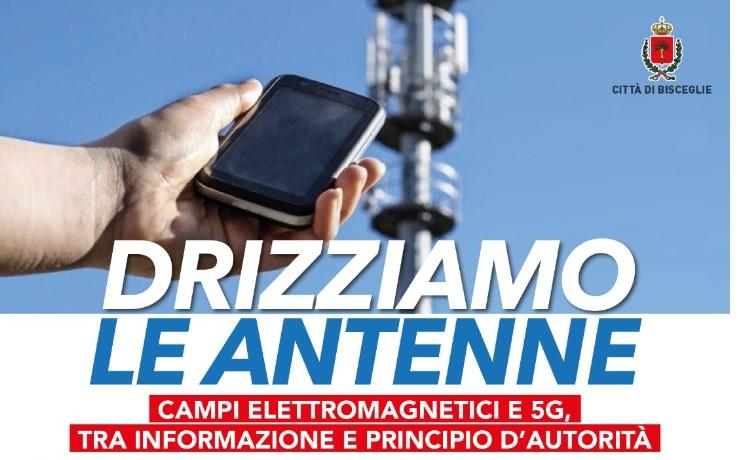 """""""Drizziamo le antenne"""", arriva l'altro convegno 5G: promuove il Comune"""