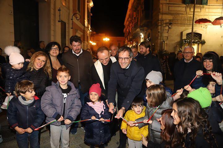 Inaugurato il Natale nel Borgo Antico