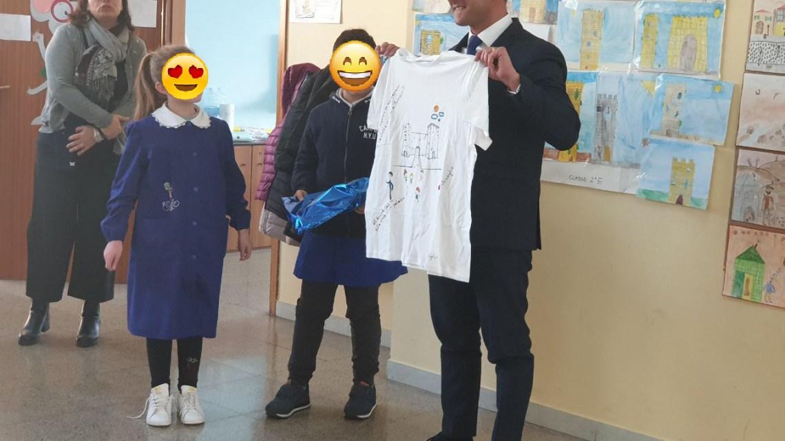 """Storia locale a scuola, Galantino (FDI): """"I miei piccoli amici animano il progetto"""""""