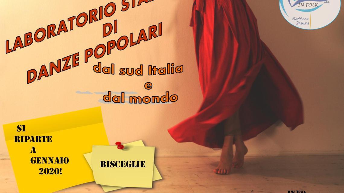 """Tutti i lunedì Corso di Danze Popolari alla scuola """"San Giovanni Bosco"""""""