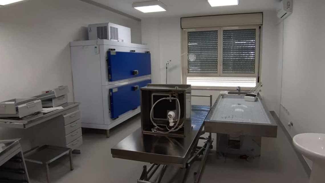 Ospedale Bisceglie: conclusi i lavori di riqualificazione dell'obitorio