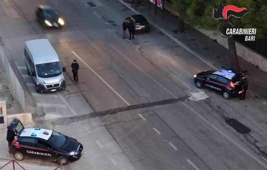 Controlli Carabinieri su Bisceglie: un arresto per stalking alla ex compagna, due per spaccio