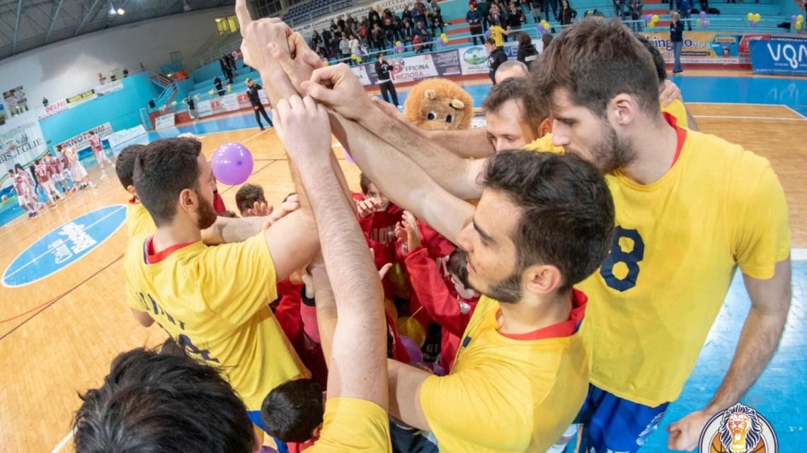 Lions Bisceglie, il successo sfugge nel finale