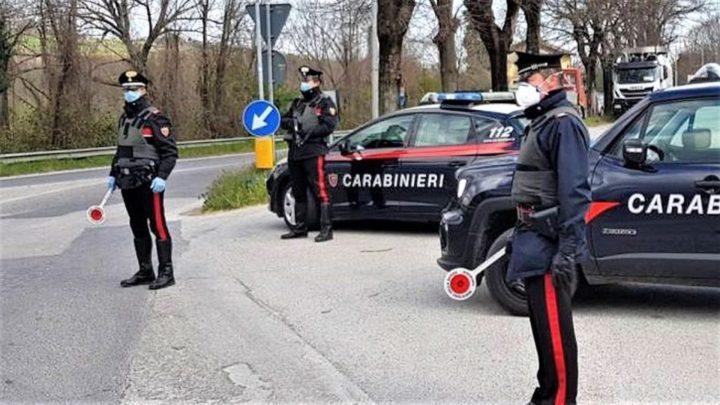 Carabinieri, meno reati nel 2020 a Bari e Bat, effetto Covid