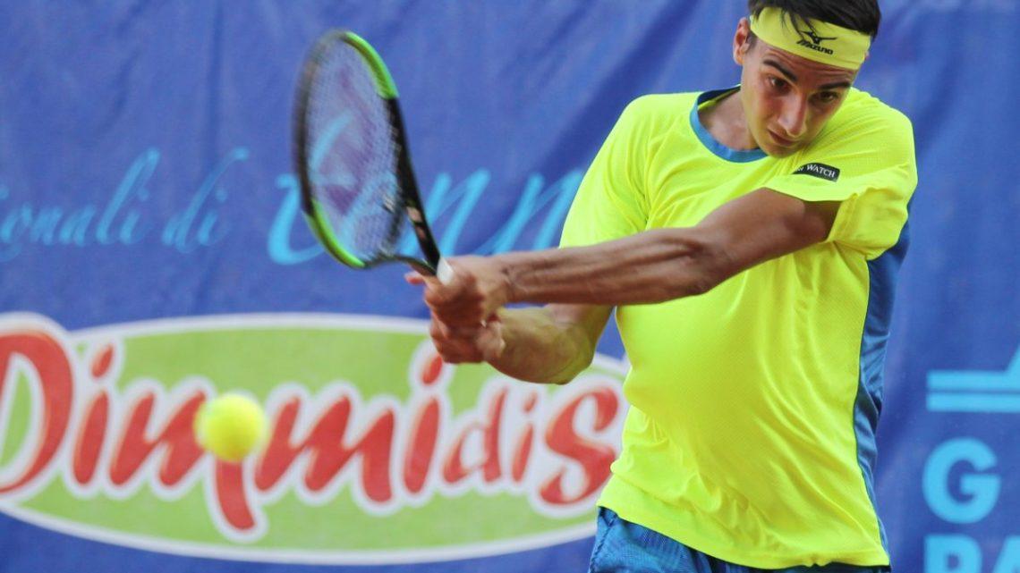 Tennis- Italian Championship: Pellegrino non supera Sonego, ma tanti applausi per il biscegliese