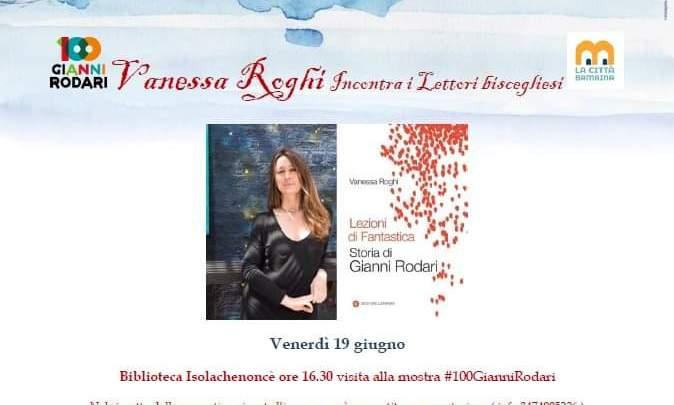 Vanessa Roghi incontra i lettori biscegliesi alla Biblioteca Isolachenoncè – Universo Salute