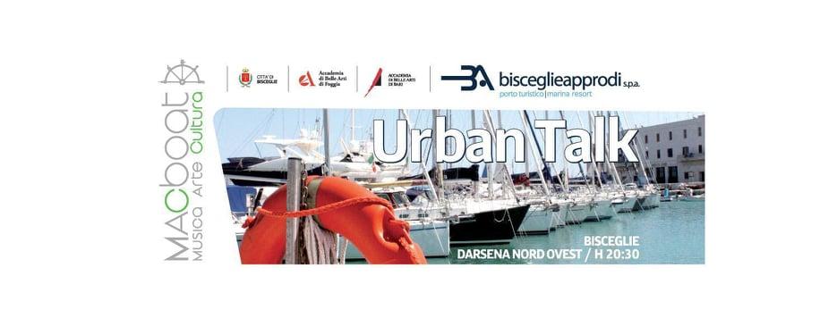 Urban talk, a Bisceglie tornano gli incontri su urbanistica e arte contemporanea