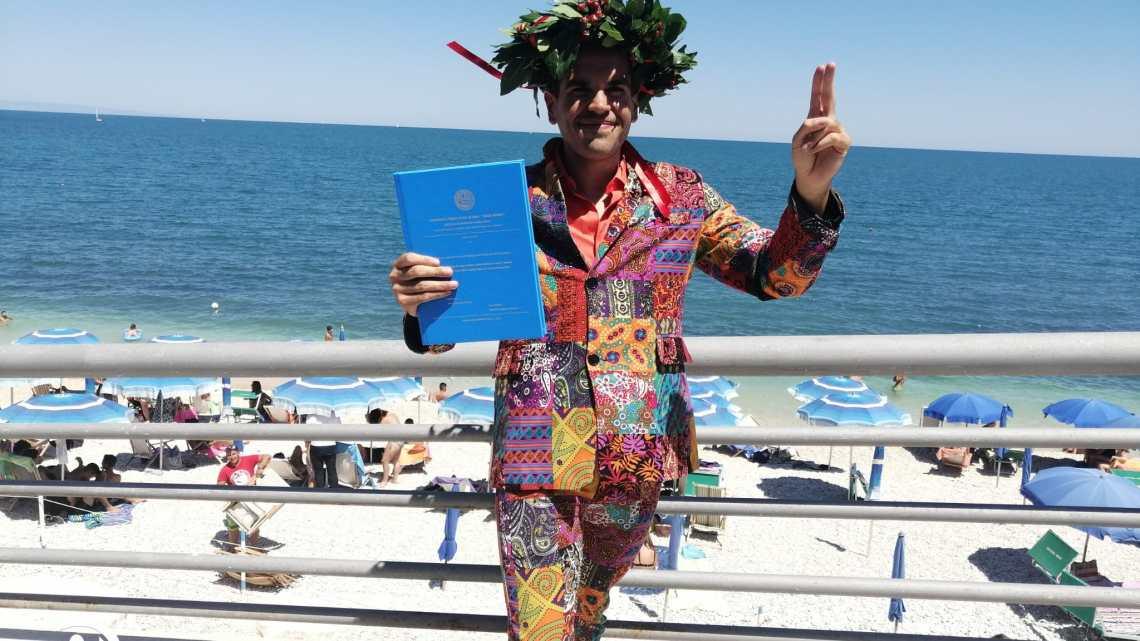 La traversata più lunga fino ad ora, 3 anni di studi e sacrifici: si laurea Daniel Douglas Di Pierro