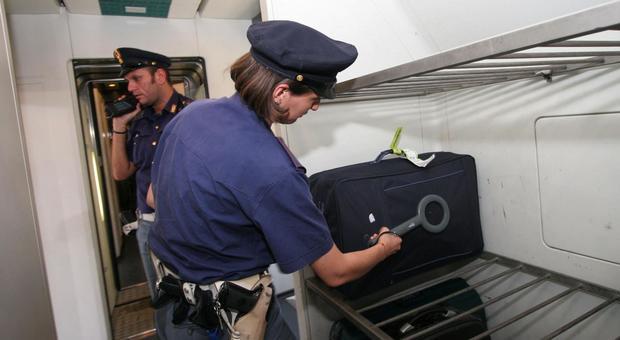 """Operazione """"alto impatto"""" della Polizia Ferroviaria: 139 identificati e 23 bagagli controllati"""