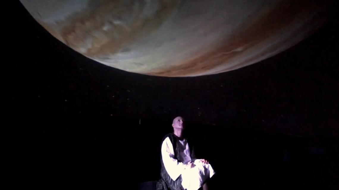 Gianluigi Belsito al Planetario di Bari, sette giorni di teatro-scienza