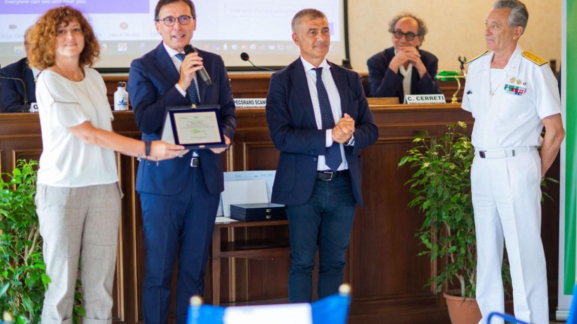 Ambiente, Boccia premiato da Univerde per impegno su ambiente e aree protette