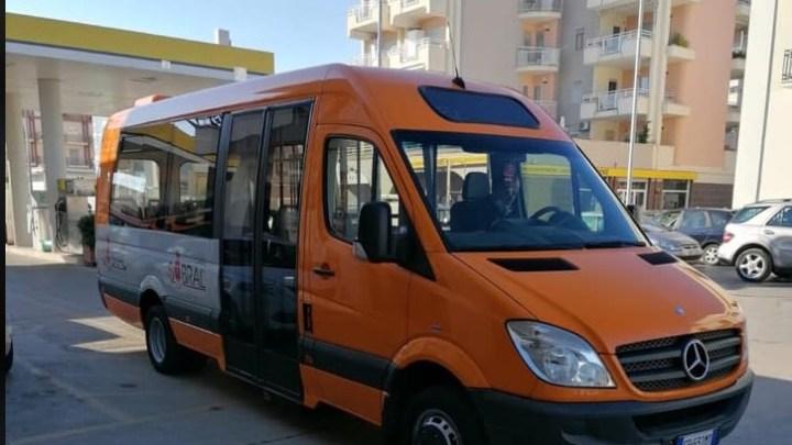 Vice Sindaco Consiglio: da oggi un nuovo mezzo per il trasporto urbano