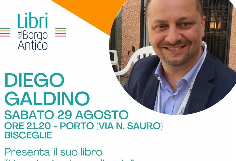 Libri Nel Borgo Antico, sabato 29 è la volta di Diego Galdino