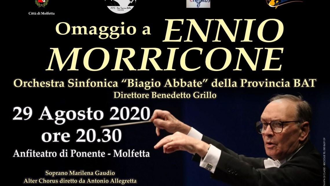 """L'Orchestra """"Biagio Abbate"""" a Molfetta per un """"Omaggio ad Ennio Morricone"""""""