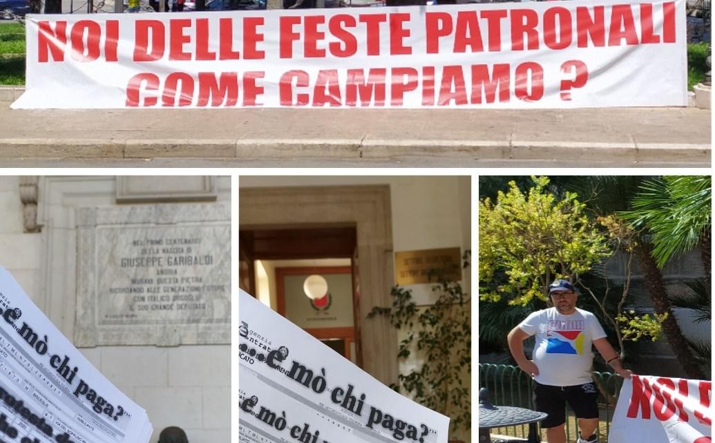 """Feste Patronali, Casambulanti: """"Il Covid-19 non è più democratico, violento con le bancarelle, innocuo con le movide e le spiagge"""""""