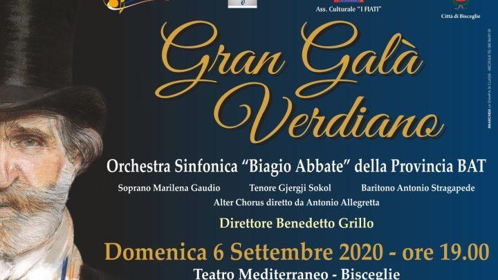 Il Maestro Grillo omaggia Giuseppe Verdi, domenica 6 settembre