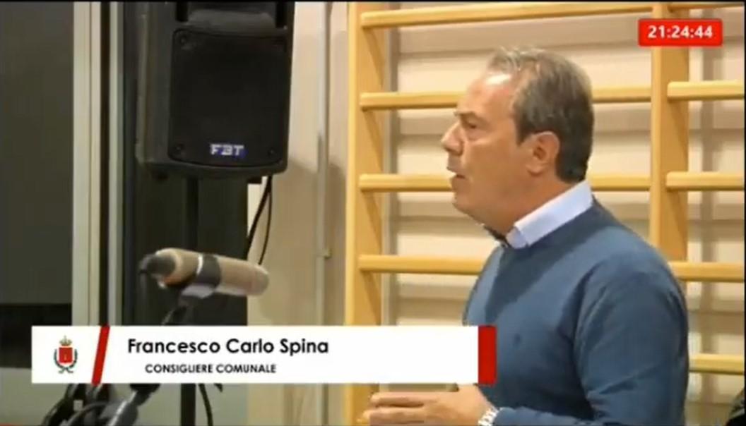 Consiglio Comunale, Spina: «Sul Dup la maggioranza impedisce all'opposizione di presentare emendamenti»