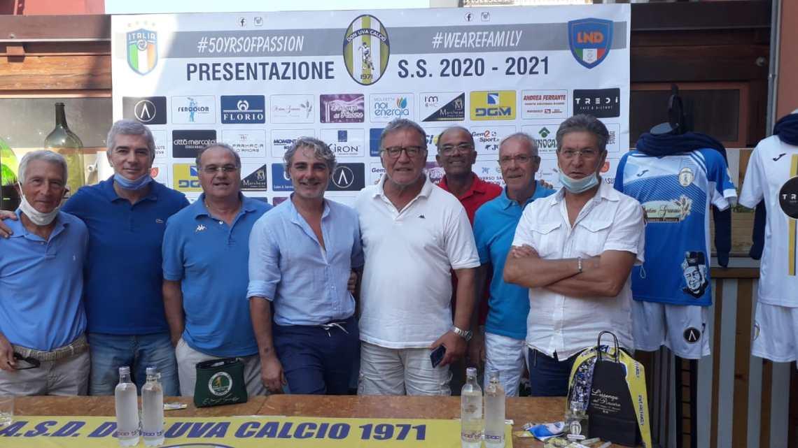 Don Uva Calcio: presentata la stagione 2020/21
