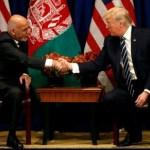 Ashraf Ghani - Donald Trump