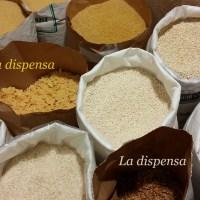 I cereali in chicchi, il riso e ....